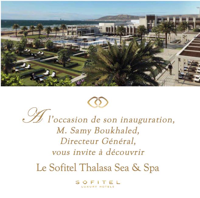Sofitel Agadir _ lancement